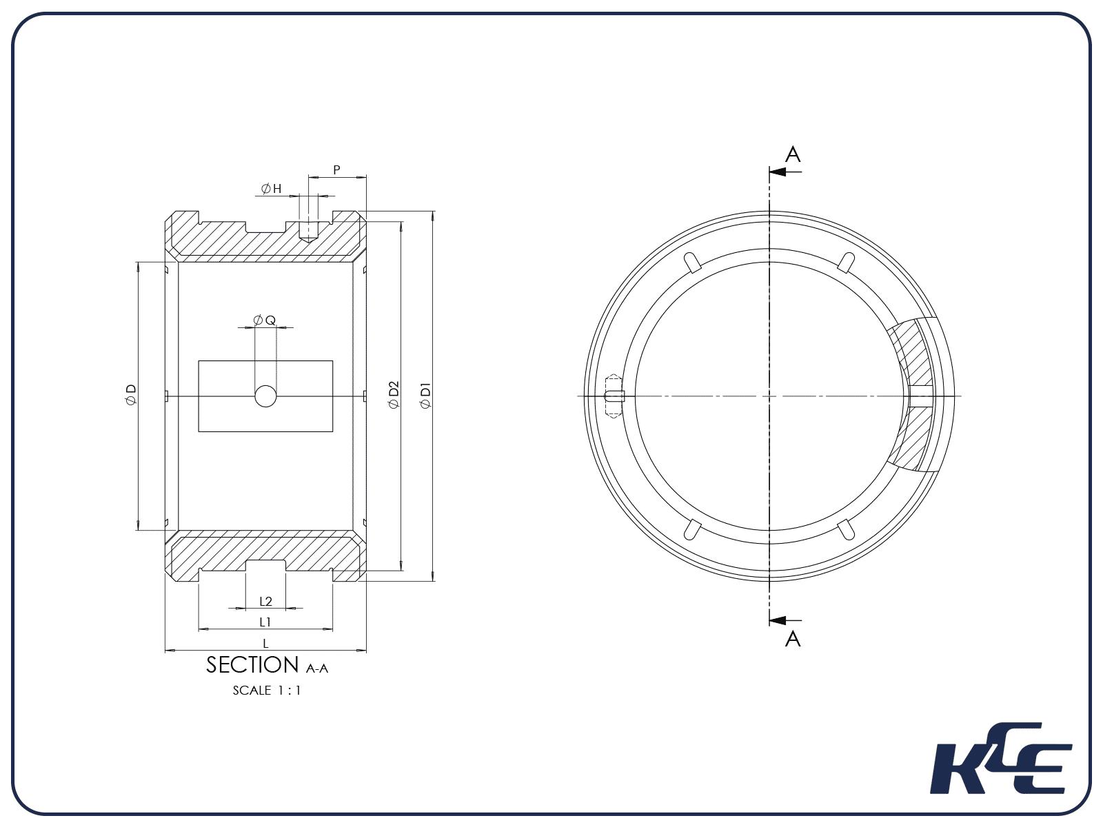 Locating Journal Bearings - C Series