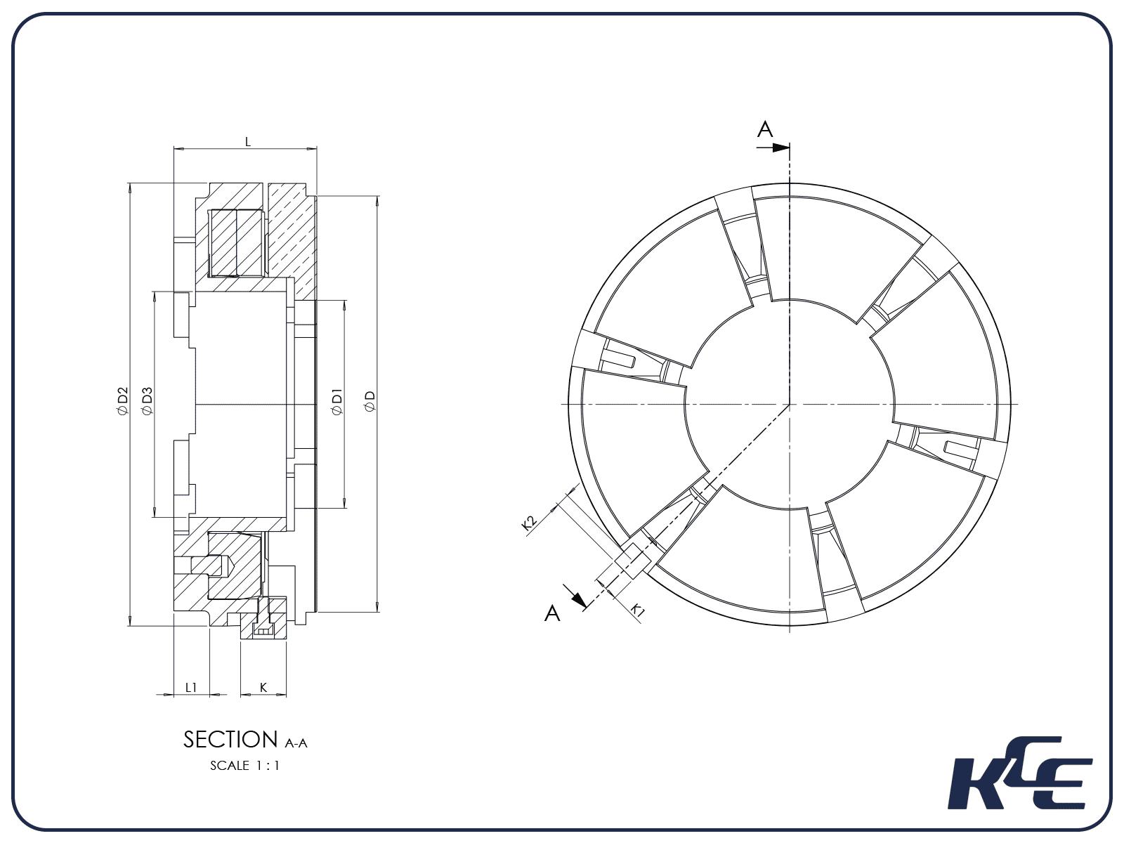 Equalising Thrust Bearing - J Series