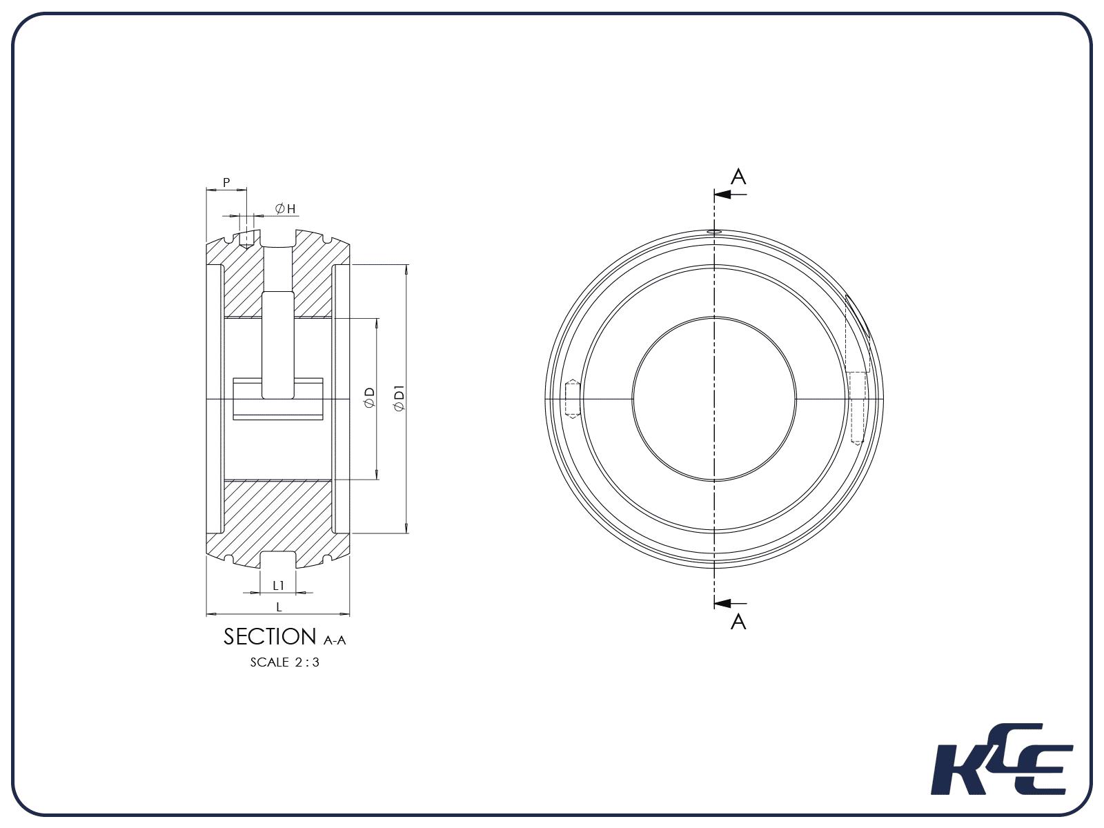 Pedestal Bearings - K Series