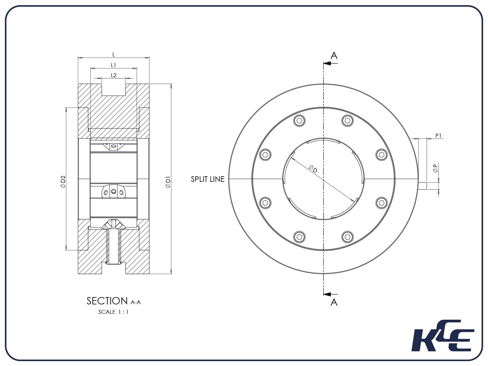 Tilt Pad Journal Bearing - T Series